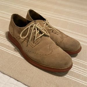 Cole Hana men's lunar grand suede shoes